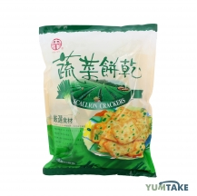 Scallion crackers